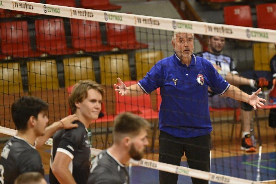 FOTO: VK OSMOS Prievidza - TJ Spartak Myjava 0:3 v zápase 1. kola extraligy