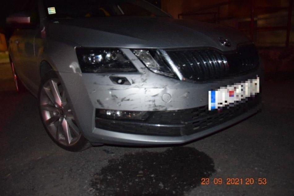 V OBRAZOCH: Opitý vodič nabúral do iného auta