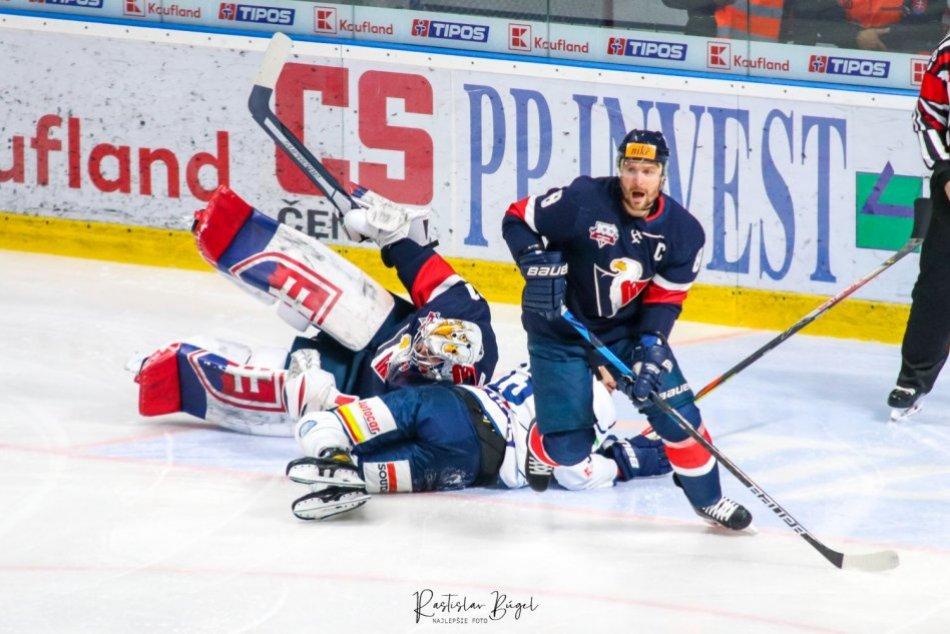4. kolo: HK Nitra - HC Slovan Bratislava 5:8