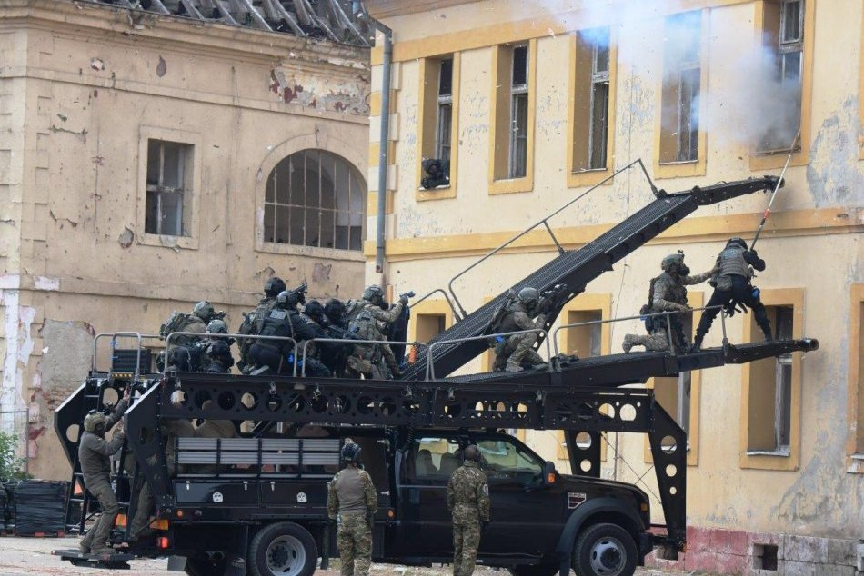 Medzinárodné cvičenie protiteroristických jednotiek