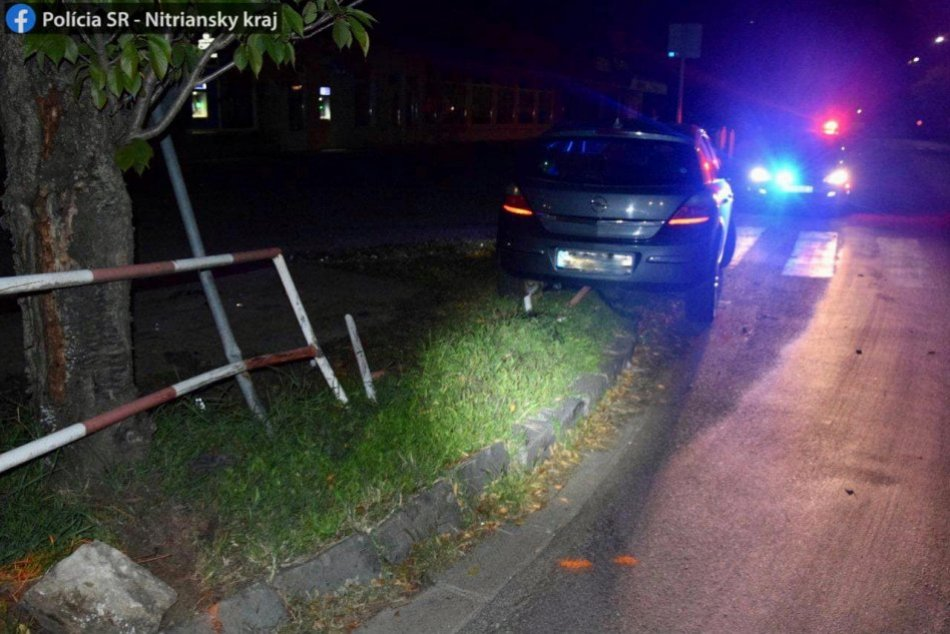 Dopravná nehoda v Šuranoch