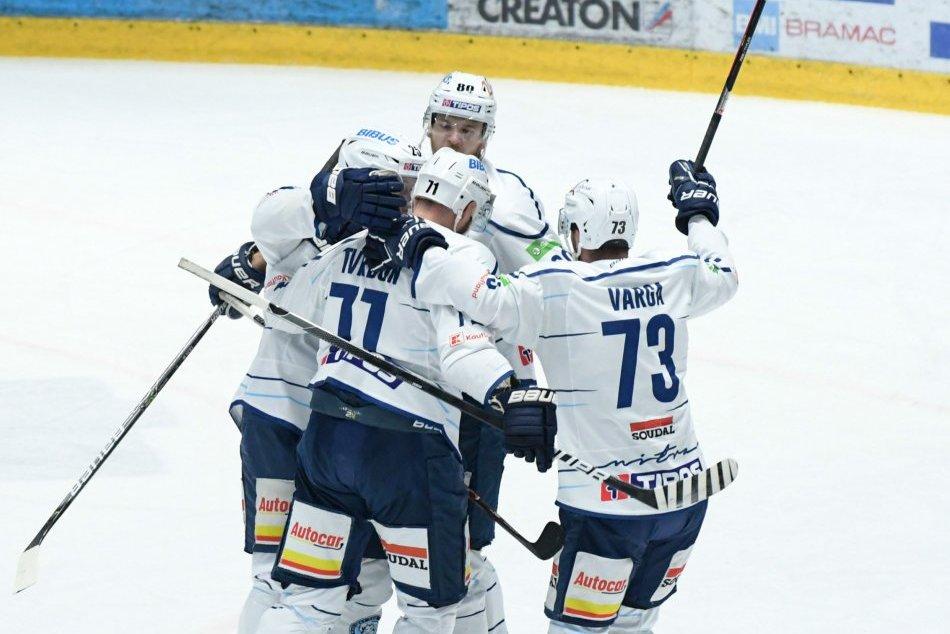 V OBRAZOCH: Zápas 7. kola hokejovej extraligy HK Nitra a HC 05 Banská Bystrica