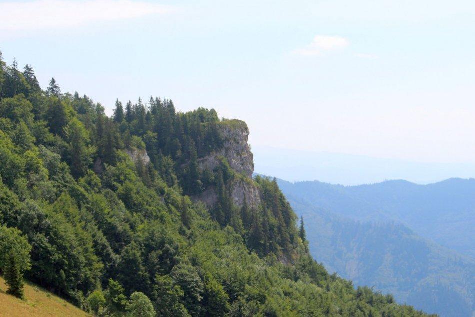 V OBRAZOCH: Krásy Majerovej skaly zachytené na fotkách