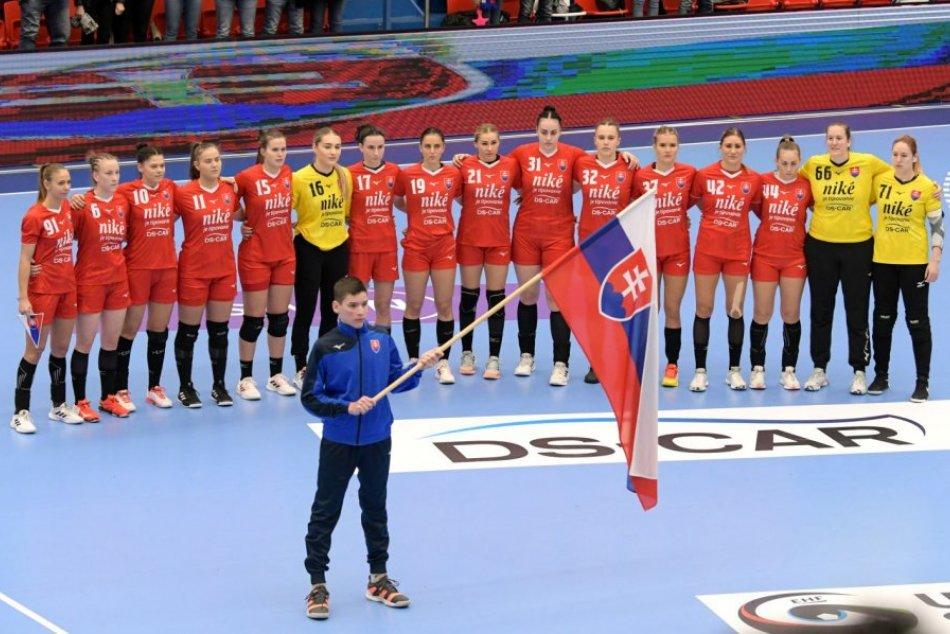Reprezentácia v Topoľčanoch: Slovensko – Maďarsko 28:30