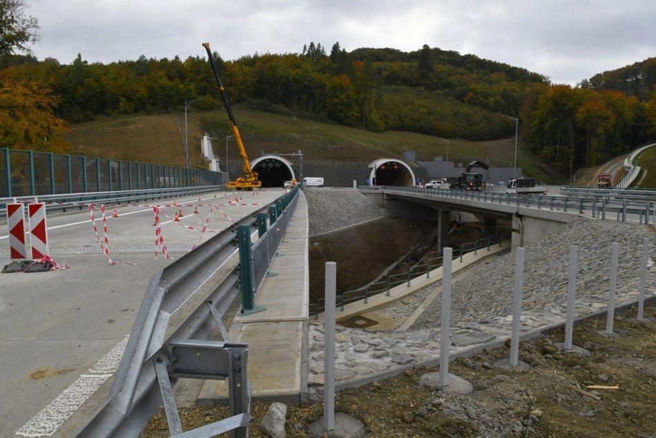 Objektívom: Tunel Prešov a spol. budú o dva týždne v ostrej prevádzke