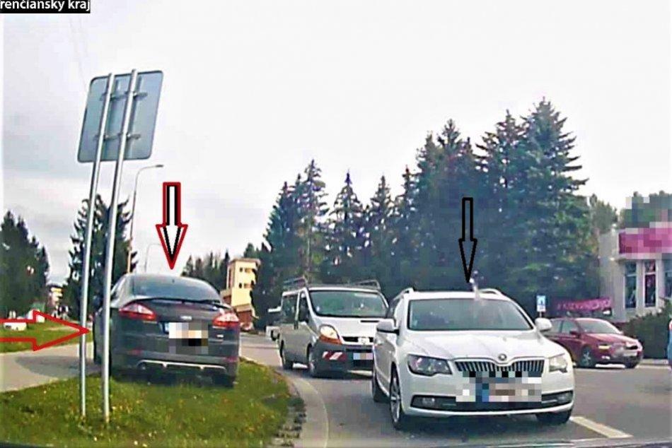 FOTO: Policajná naháňačka zo Žiliny až do Považskej Bystrice