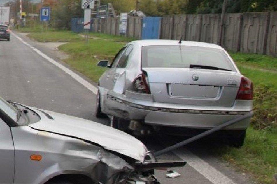 Nehoda na Zemplíne policajnom zábere